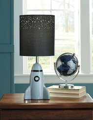 Cale Gray/Black Ceramic Table Lamp (1/CN)
