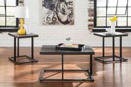 Airdon Bronze Finish Occasional Table Set (3/CN)
