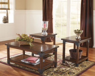 Murphy Medium Brown Occasional Table Set (3/CN)