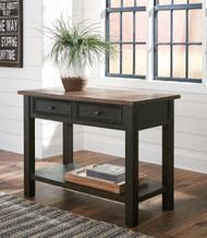 Tyler Creek Grayish Brown/Black Sofa Table