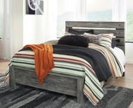 Cazenfeld Black/Gray Queen Panel Bed