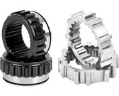 Longfield Chromoly Inner and Outer Hub Gears, Solid Axle