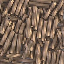 Miyuki Twisted Bugles, 2.7 x 12mm, SKU 502712.TW2712-1255, Metallic Matte Gold, 17-22 gram tube, (1 17-22 gram tube, apprx 170 beads)