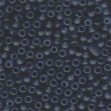 Japanese Miyuki Seed Beads, size 6/0, 0152F, matte transparent grey, (1 tube, apprx 24-28 grams, apprx 315 beads per tube)