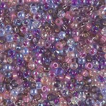 Japanese Miyuki Seed Beads, size 8/0, SKU 189008.MY8-MIX06, lavender bliss mix, (1 26-28 gram tube, apprx 1120 beads)