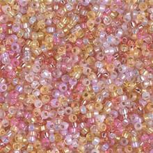 Japanese Miyuki Seed Beads, size 11/0, MIX18, abracadabra mix, (1 28-30 gram tube, apprx 3080 beads)