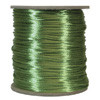 Satin Cord (Rat Tail), Apple Green, 3mm, 12 yard length, (12 yards cut)