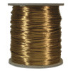 Satin Cord (Rat Tail), Camel, 3mm, 12 yard length, (12 yards cut)