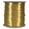 Satin Cord (Rat Tail), Gold, 3mm, 12 yard length, (12 yards cut)