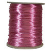 Satin Cord (Rat Tail), Shocking Pink, 3mm, 12 yard length, (12 yards cut)