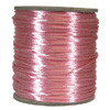 Satin Cord (Rat Tail), Light Pink, 3mm, 12 yard length, (12 yards cut)