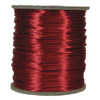 Satin Cord (Rat Tail), Red, 3mm, 12 yard length, (12 yards cut)
