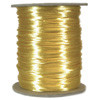 Satin Cord (Rat Tail), Maize, 3mm, 12 yard length, (12 yards cut)