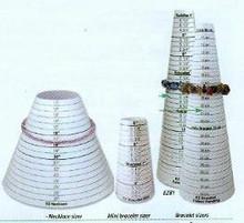 Sizing Cone, Bracelet, EZ BRACELET SIZER (in inches), (1 sizing cone)