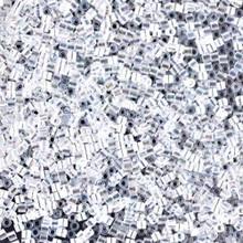 Miyuki 15/0 Small Delicas, SKU 195015.DBS15-0051, crystal AB, (1 10gram tube, apprx 2900 beads)