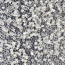Miyuki 15/0 Small Delicas, SKU 195015.DBS15-0041, crystal silver lined, (1 10gram tube, apprx 2900 beads)