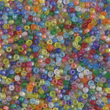 Japanese Miyuki Seed Beads, size 11/0, SKU 111030.MY11-MIX41, circus mix, (1 28-30 gram tube, apprx 3080 beads)