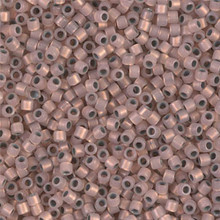 Miyuki 10/0 Medium Delicas, SKU 195016.DBM10-0191, copper lined opal, (1 10gram tube, apprx 1000 beads)