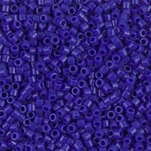 Miyuki 10/0 Medium Delicas, SKU 195016.DBM10-0726, opaque cobalt, (1 10gram tube, apprx 1000 beads)