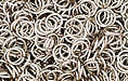 Nickel Plate Jump Ring, Round, 6mm exterior diameter, 21 gauge, (20 pieces)