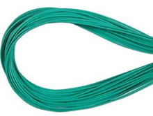 Leather, European (Greek), Round Cord, 1.5mm, Aqua, 50-meter skein, (1 skein)