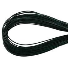 Leather, European (Greek), Round Cord, 1.5mm, Hunter Green, 50-meter skein, (1 skein)