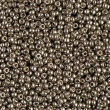 Japanese Miyuki Seed Beads, size 11/0, SKU 111030.MY11-4222, duracoat galvanized pewter, (1 28-30 gram tube, apprx 3080 beads)