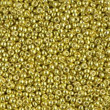Japanese Miyuki Seed Beads, size 11/0, SKU 111030.MY11-4205, duracoat galvanized zest, (1 28-30 gram tube, apprx 3080 beads)