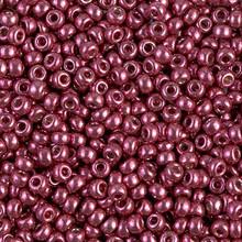 Japanese Miyuki Seed Beads, size 8/0, SKU 189008.MY8-4219, duracoat galvanized magenta, (1 26-28 gram tube, apprx 1120 beads)