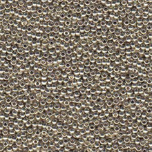 Japanese Miyuki Seed Beads, size 6/0, 4201, duracoat galvanized silver, (1 tube, apprx 24-28 grams, apprx 315 beads per tube)