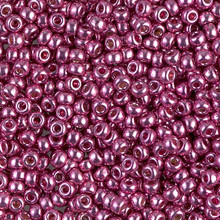 Japanese Miyuki Seed Beads, size 8/0, SKU 189008.MY8-4210, duracoat galvanized hot pink, (1 26-28 gram tube, apprx 1120 beads)