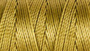 C-LON B-E-A-D C-O-R-D, #18/TEX 210 braided nylon multi-filament cord, 86 yards per bobbin, .5mm, lemon grass, (1 large bobbin)
