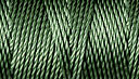 C-LON B-E-A-D C-O-R-D, #18/TEX 210 braided nylon multi-filament cord, 86 yards per bobbin, .5mm, fern, (1 large bobbin)