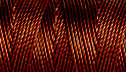 C-LON TEX 400 BEAD CORD, braided nylon multi-filament cord,  .9mm, 43 yards per bobbin, mahogany, (1 large bobbin)