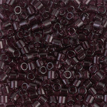 Miyuki Delica Beads, Large, size 8/0, SKU 195008.DBL8-1104, Transparent Mauve, (1 10gr tube; apprx 330 beads)