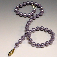 PEARL KNOTTING KIT, 8mm Swarovski Pearls and Silk Bead Cord, (1 unit), (CHOOSE COLOR, UPGRADE OPTION, and FORMAT)