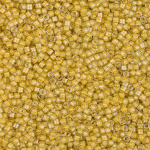 Delica Beads (Miyuki), size 11/0 (same as 12/0), SKU 195006.DB11-2041, luminous honeycomb,    (10gram tube, apprx 1900 beads)