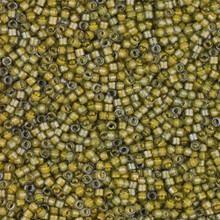 Delica Beads (Miyuki), size 11/0 (same as 12/0), SKU 195006.DB11-2046, luminous mushroom,    (10gram tube, apprx 1900 beads)