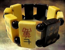 MAHJONG TILE STRETCHY BRACELET (class fee plus kit)