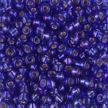 Japanese Miyuki Seed Beads, size 6/0, SKU 111031.MYK6-1446, silverlined red violet (dyed), (1 tube, apprx 24-28 grams, apprx 315 beads per tube)