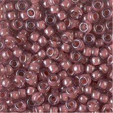 Japanese Miyuki Seed Beads, size 6/0, SKU 111031.MYK6-0364, lined berry luster, (1 tube, apprx 24-28 grams, apprx 315 beads per tube)