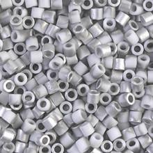 Miyuki Delica Beads, Large, size 8/0, SKU 195008.DBL8-2204, labrador matte, (1 10gr tube; apprx 330 beads)