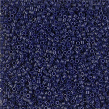 Delica Beads (Miyuki), size 11/0 (same as 12/0), SKU 195006.DB11-2144, opaque dyed cobalt, (10gram tube, apprx 1900 beads)