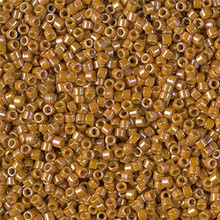Delica Beads (Miyuki), size 11/0 (same as 12/0), SKU 195006.DB11-2273, opaque glazed toast, (10gram tube, apprx 1900 beads)