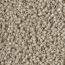 Delica Beads (Miyuki), size 11/0 (same as 12/0), SKU 195006.DB11-2363, duracoat opaque dyed oyster, (10gram tube, apprx 1900 beads)