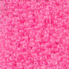 Japanese Miyuki Seed Beads, size 8/0, SKU 189008.MY8-4299, luminous cotton candy, (1 26-28 gram tube, apprx 1120 beads)