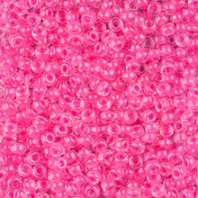 Japanese Miyuki Seed Beads, size 8/0, SKU 189008.MY8-4301, luminous wild strawberry, (1 26-28 gram tube, apprx 1120 beads)