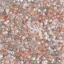 Japanese Miyuki Seed Beads, size 8/0, SKU 189008.MY8-MIX32, moonstone mix, (1 26-28 gram tube, apprx 1120 beads)