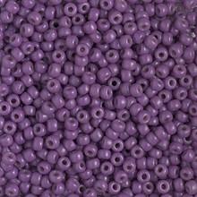 Japanese Miyuki Seed Beads, size 8/0, SKU 189008.MY8-4490, duracoat dyed opaque anemone, (1 26-28 gram tube, apprx 1120 beads)
