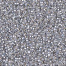 Japanese Miyuki Seed Beads, size 15/0, SKU 189015.MY15-0576, dyed smoky opal silverlined alabaster,  (1 12-13gram tube - apprx 3500 beads)